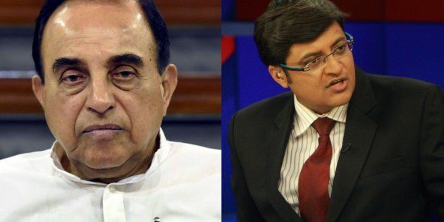 Arnab Goswami Has No Right To Use The Word 'Republic', Subramanian Swamy Writes To