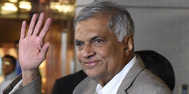 Sri Lanka's ex-Prime Minister Ranil Wickremesinghe in a file