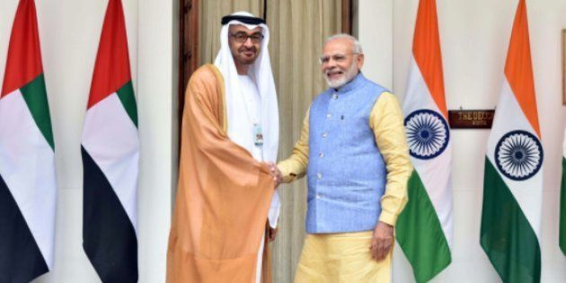 India, UAE Sign Defence, Security