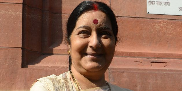 File photo of External Affairs Minister Sushma