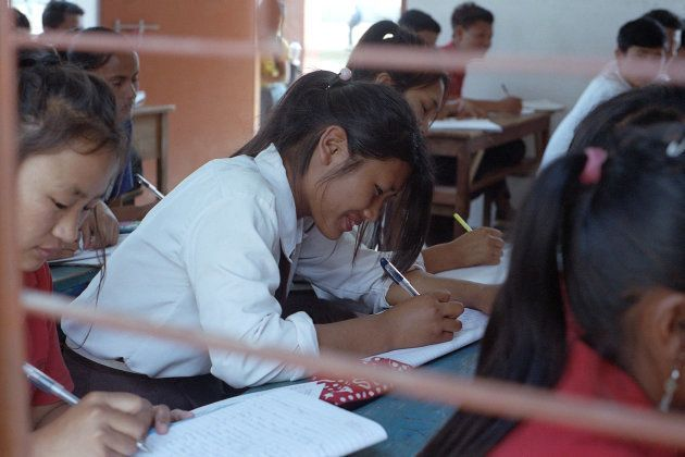 Nokpoi studies in Class X at a government high school in Dimapur. Teachers at the school say it can be...