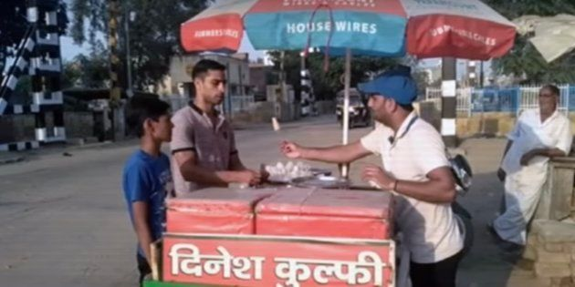 Dinesh Kumar, an Arjuna Award winning boxer, now sells kulfi in Haryana's