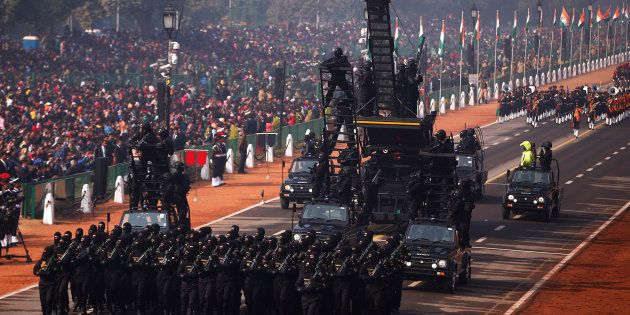 India Displays Its Cultural Heritage, Military Might On Republic Day Amidst Unprecedented