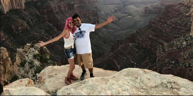 The Indian couple who died from a 800-feet fall at Yosemite National
