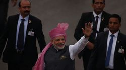 PM Narendra Modi Breaks Protocol Yet Again, Walks Down Rajpath To Greet People On Republic