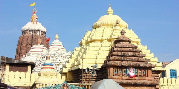 The Shree Jagannath Temple at Puri,