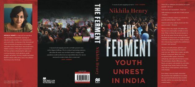 The cover of journalist Nikhila Henry's new book, The Ferment: Youth Unrest in