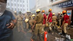 Fire Breaks Out In High Rise In Kolkata's Park