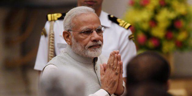 Narendra Modi in a file