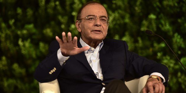 Arun Jaitley in a file