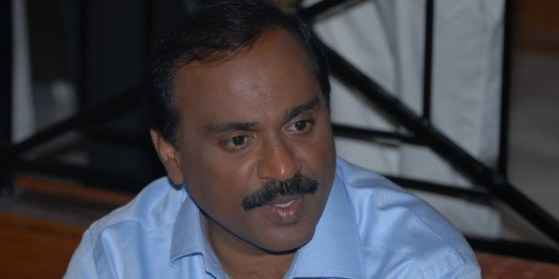 G Janardhan Reddy in a file