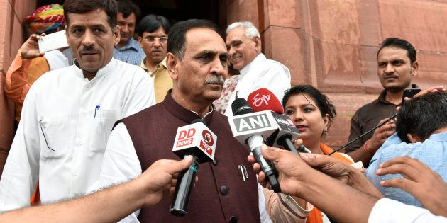 Vijay Rupani in a file