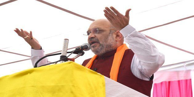 BJP President Amit Shah in a file