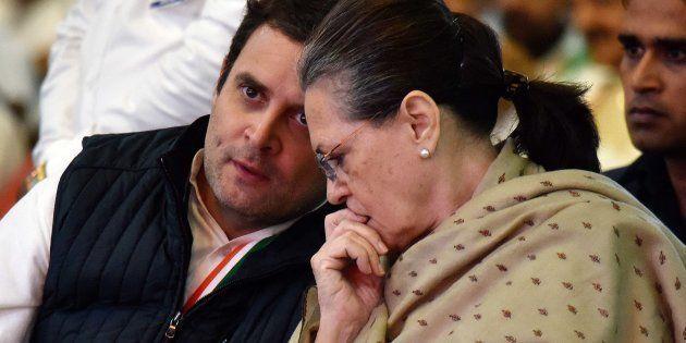 Rahul Gandhi and Sonia Gandhi in a file