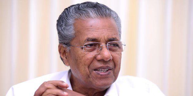 Pinarayi Vijayan in a file