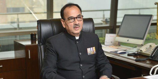 Alok Verma in a file