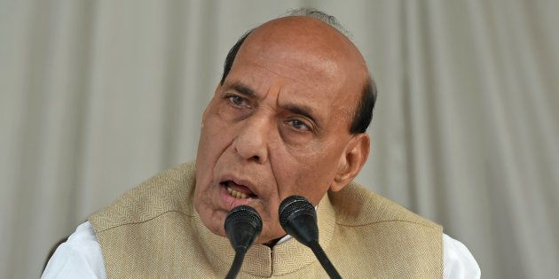 Rajnath Singh in a file