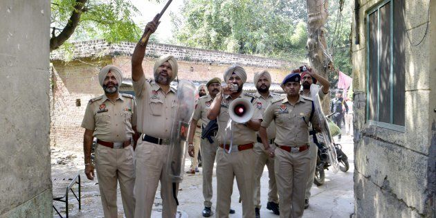 File photo of Punjab Police. Image used for representational image purposes