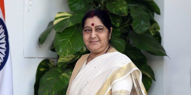 A file photo of Sushma