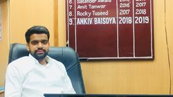 FIR Registered Against Ex-DUSU President Ankiv Baisoya In Fake Degree