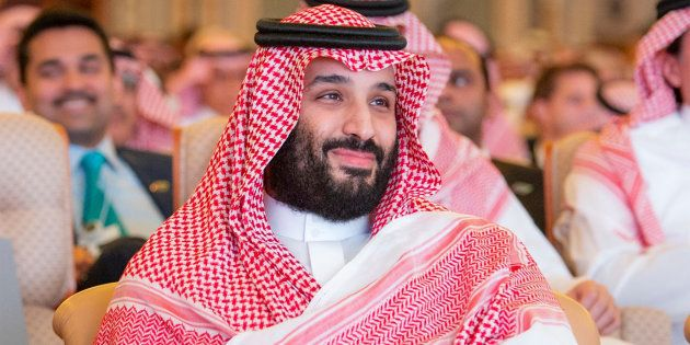 A file photo of Saudi Crown Prince Mohammed bin