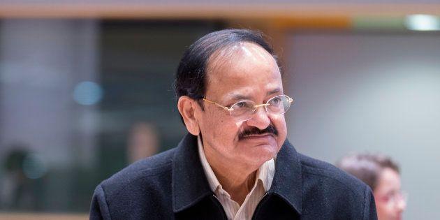 A file photo of Venkaiah