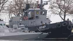 Russia Seizes Three Ukrainian Ships Near Crimea After Firing On