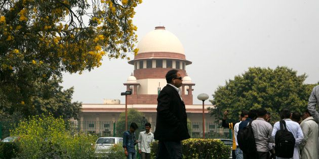 A view of the Supreme Court Of