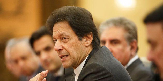 A file photo of Pakistani Prime Minister Imran