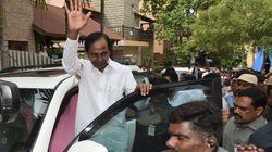 Telangana CM KCR Snaps At Man, Says 'Tera Baap Ko Bolunga