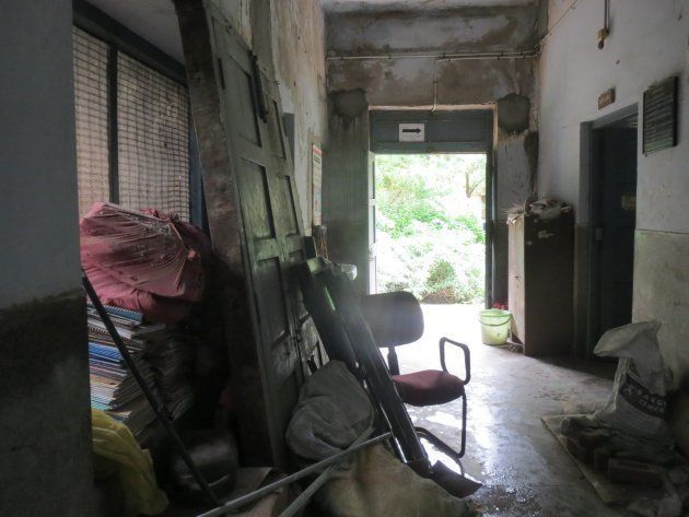 The Beawar district TB hospital is in a small, dilapidated building. In the monsoon, it becomes unusable...