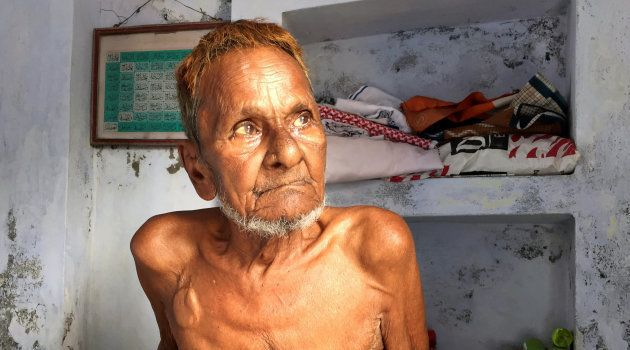 Mohammad Hashim Ansari, the oldest litigant in a case seeking to preserve Muslim claim on a disputed...