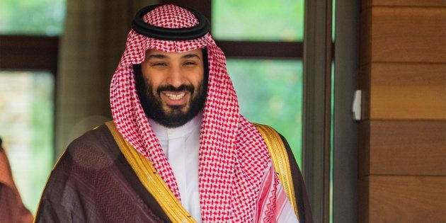 A file photo of Saudi Arabia's Crown Prince Mohammed bin
