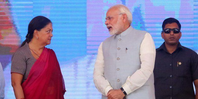 Work relationship between Prime Minister Narendra Modi and Rajasthan Chief Minister Vasundhara Raje has...