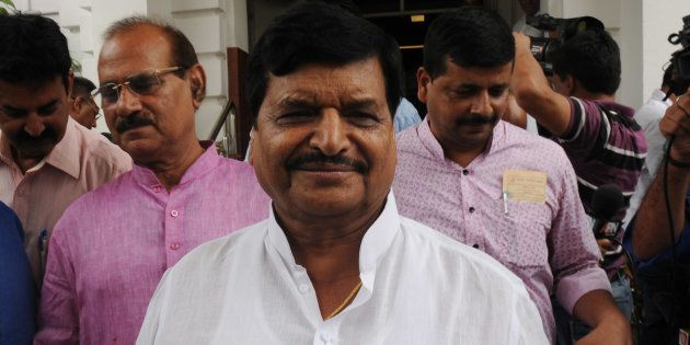 Shivpal Yadav in a file