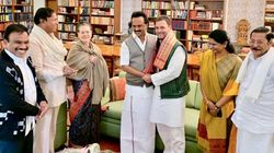 DMK Chief Stalin Meets Sonia,