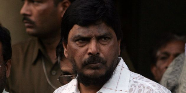 Ramdas Athawale in a file