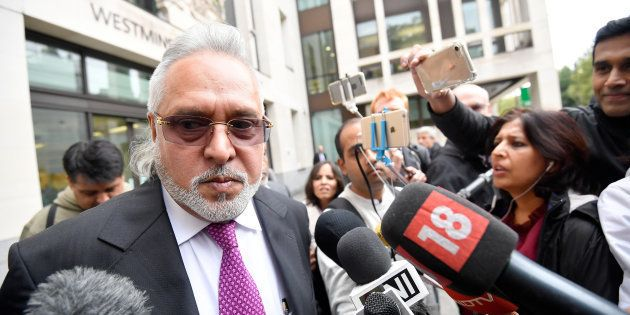 Vijay Mallya leaves Westminster Magistrates Court in London on 12