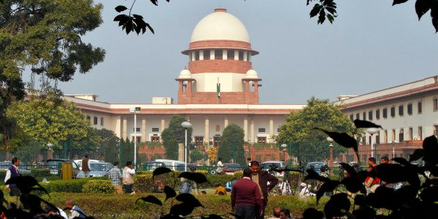 A view of the Indian Supreme Court