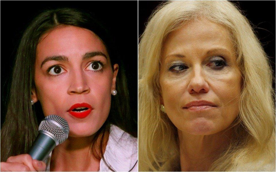 Alexandria Ocasio-Cortez Expertly Dismisses Kellyanne Conway