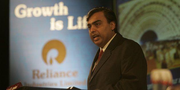 File photo of Mukesh Ambani, Chairman of Reliance Industries