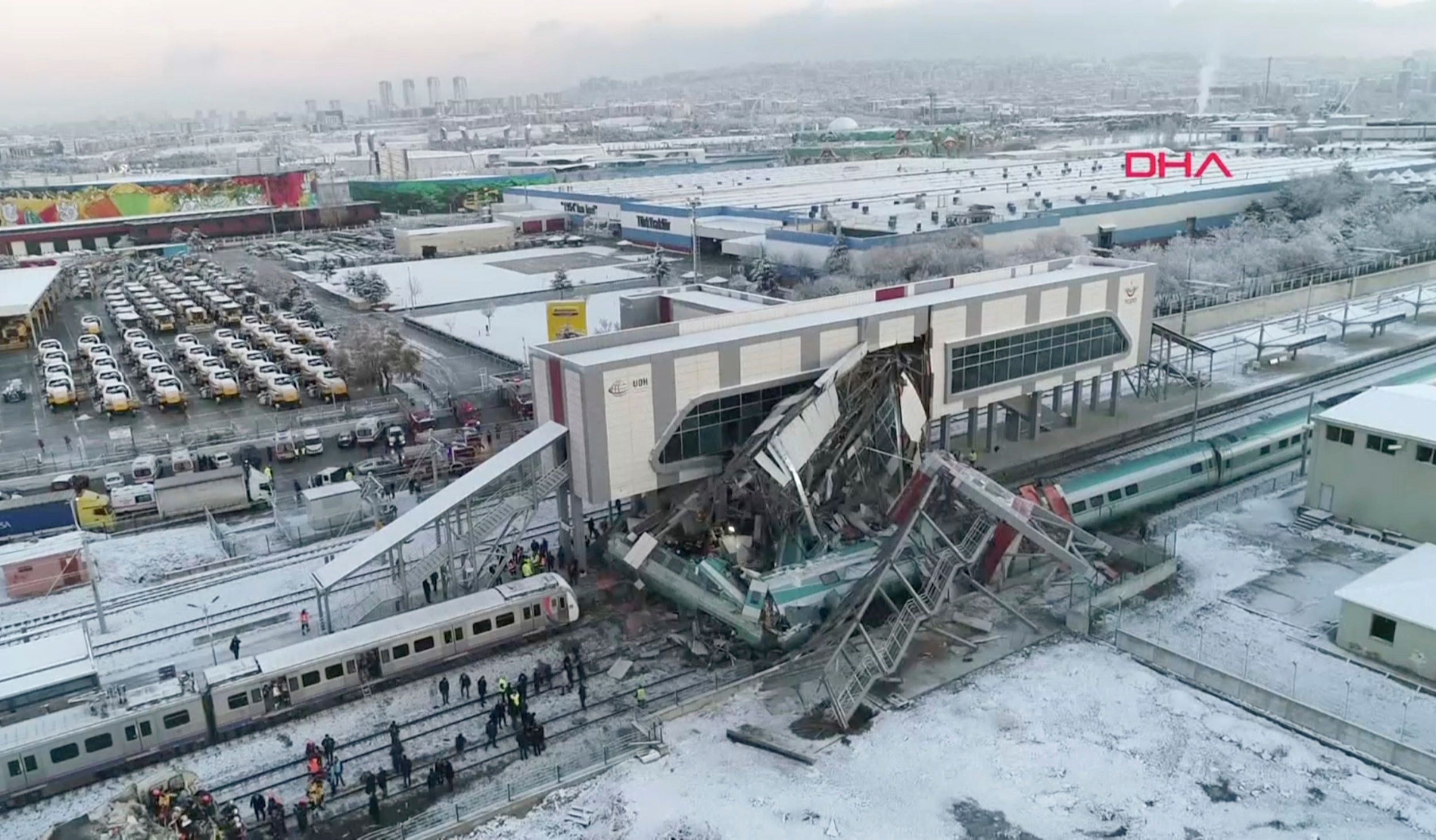 Seven Killed As High-Speed Train Crashes Into Bridge In
