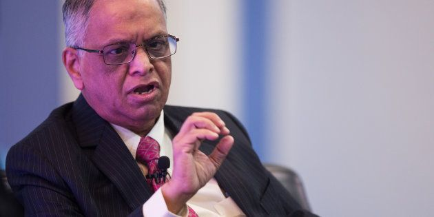 N.R. Narayana Murthy, co-founder of