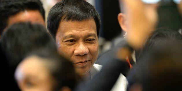 Philippine President Rodrigo