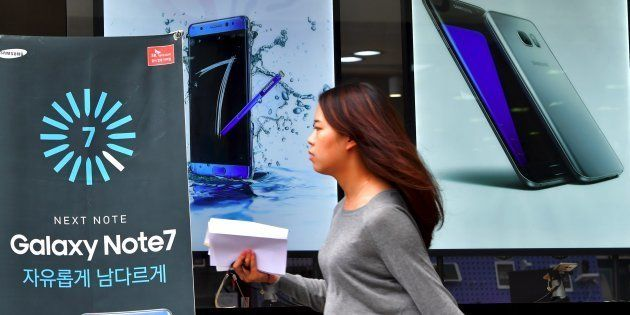 Samsung Lost $22 Billion Of Market Value In 2 Days Over Fire Risk From Galaxy Note
