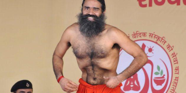 Yoga guru Ramdev, the brand ambassador of Yoga and Ayurveda in Haryana, organized Three-day yoga training...