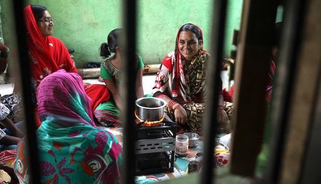 Solar cook stoves eliminate the hazards of indoor air