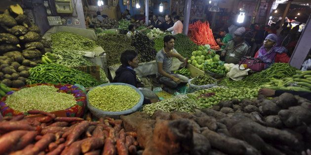 Wholesale Price Inflation Eases To 3.57% As Vegetable Prices