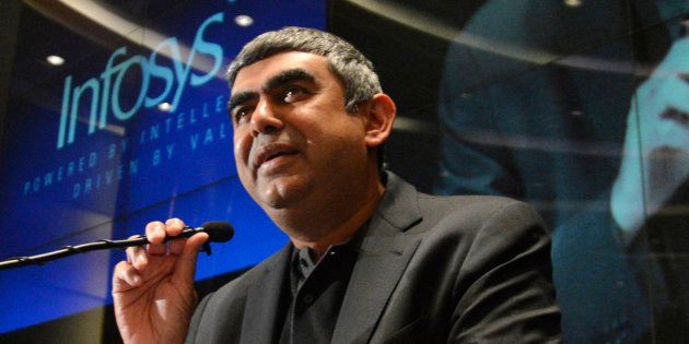 File photo of Infosys CEO Vishal