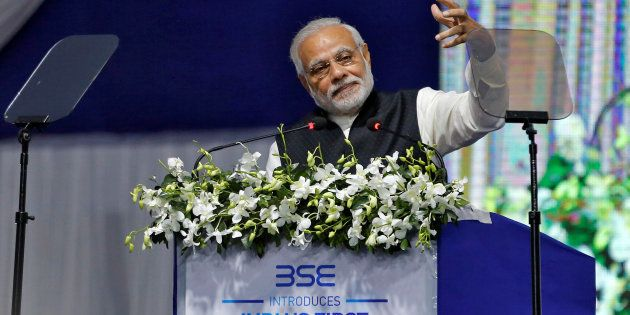 Modi Avoids Mention Of Economic Hit From Demonetisation While Pitching For Digital Benefits To